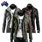 Fashion Mens Men Casual Jacket Military Jacket coat SEXY SLIM FIT stylish AU