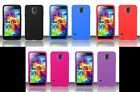 2x SILICONE SKIN Phone Cover CASE OF YOUR CHOICE For Samsung Galaxy S5 LTE-A