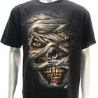 sc80 M L XL XXL Survivor Chang T-shirt Tattoo Glow in Dark Mummy Motif Skull