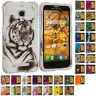For Alcatel One Touch Fierce Hard Design Rubberized Skin Case Cover Accessory
