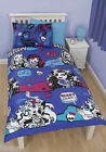 MONSTER HIGH DUVET COVER & PILLOW CASE BED SET 'BEASTIE' KIDS CARTOON REVERSIBLE