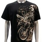 sc82 M L XL XXL Survivor Chang T-shirt Tattoo Skull Glow in Dark STUD Cotton Men