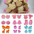 Cake Sugarcraft Decorating Plunger Cookie Cutter Baking Animal Biscuit Mold Tool