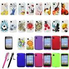 LG Optimus Dynamic 2 II L39C Hard Rubberized Matte Snap On Phone Case Cover