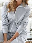 NEW LADIES WOMANS GREY ANYTIME LACE OUTDOOR GYM JACKET TOP PLUS SIZE 16 TO 30 UK