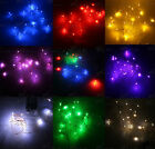 20 LEDs 1.2W Battery Operated Mini LED Silver Copper Wire String Fairy Lights 2M