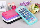 TPU Wrap Up Case For Apple iPhone 5 5s 5c with Built In Screen Protector Cover
