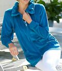NEW LADIES WOMANS COSY WARM VELOUR EVERYDAY JACKET PLUS SIZE 14 TO 26