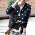 Womens Solid Hoodies Long Sleeve Warm Sweatshirt Casual Jacket Coat Outerwear BF
