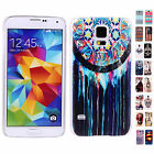 Colorful Transparent Frame Hard Fitted Case Cover Skin For Samsung Galaxy S5 New