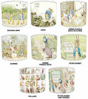 Beatrix Potter Peter Rabbit Lamp shades Ideal To match Childrens Duvets Curtains