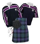 Sports Kit Essential 8yd Kilt Outfit - Purple Stripe Rugby Top - Freedom