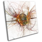 Funky Design Abstract SINGLE CANVAS WALL ART Picture Print VA