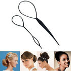Topsy Ponytail Tail Magic Hair Care Clip Band Bun Maker Twist Styling Maker Tool