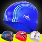 YINGFA  training silicon Printing pattern swim swimming cap