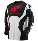 NEW 2014 ONE INDUSTRIES ATOM HONDA MX DIRT BIKE OFFROAD JERSEY RED ALL SIZES