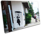 Nola New Orleans Banksy Street SINGLE CANVAS WALL ART Picture Print VA