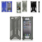 BOLT ON ALUMINIUM METAL ARMOUR CASE FOR IPHONE 5S 5 HARD BUMPER COVER BACK APPLE