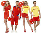 Baywatch Beach Lifeguard Adult Celebrity Fancy Dress 1980S TV Sports 80s Costume