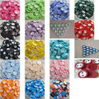 ab030q16 100Pcs 2 Holes Round Resin Buttons  Sewing DIY Craft Lots Color 11MM
