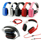 Over-Ear Adjustable 3.5mm Earphone Stereo Headset Headphone for MP3 4 PC iPhone