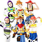 Disney Toy Story Kids Fancy Dress Book Week Boys Girls Childrens Costume Outfits