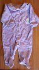 Lots Girl's Size 6 M 3-6 Months One Piece Carter's Footed Pajama Sleeper *+ Bib*