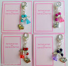 """Best Friends are Angels Bag Charm """"Best Friend"""" Charm & Guardian Angel +Gift Tag"""