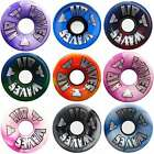 Air Waves Roller Derby Quad Skates Wheels 78a 65mm x8