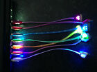"8"" Short Led Data Sync Charger Light-up Charge Cable For Iphone 4 4s Ipod Nano 6"