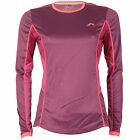 Womens More Mile Womens More Mile Long Sleeve Running T-Shirt From Get The Label