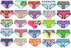 NWT Justice Girls Assorted Boy Short Boyshorts Panties Underwear All Sizes NEW
