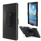 Nokia Lumia 1520 COMBO Belt Clip Holster Case Cover KICKSTAND Accessory Black