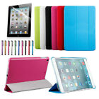 Smart Magnetic Slim Leather Case Cover Stand for iPad 9.7 (2017) /Air Mini 1 2 3