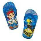 Disney Store Jake And The Never Land Pirates Toddler Boy Flip Flops Shoes 11/12
