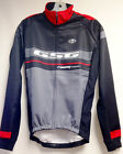 Team Windtex WindProof Thermal CYCLING Jacket (Red/Gray) Made in Italy by GSG