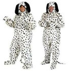 ADULT MENS LADIES DALMATIAN DOG FANCY DRESS UP COSTUME SIZE HEIGHT 164CM & 183CM