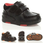 BOYS UNISEX CHILDRENS KIDS VELCRO STRAP PADDED CASUAL SCHOOL SHOES BOOTS SIZE