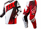 NEW 2015 FOX RACING 180 VANDAL MX DIRT BIKE OFFROAD GEAR COMBO RED ALL SIZES