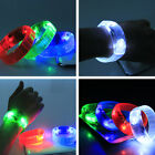 LED Light  Assorted Colorful Glow in the Dark Voice & Motion Activated Bracelet