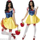 Ladies Sexy Snow White Princess Fairytale Fancy Dress Costume Outfit UK 4-18