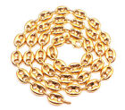"""24-30"""" Inch 9.5mm 10k Yellow Real Gold Mariner Anchor Gucci Chain Necklace Mens"""