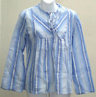 Cheesecloth smock top UNUSED VINTAGE 1970s Indian cotton blouse S M L ethnic