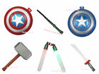 HALLOWEEN PARTY Accessory AVENGERS Costume Cosplay Captain Shield Hammer Punch