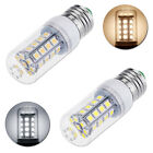 E27 5W 36 LED SMD5050 Corn Light Bulb Warm/Pure White Lamp 360 Degree 350LM 220V