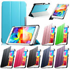 For 2014 Samsung Galaxy Tab 4 7.0 SM-T230 T230 Slim PU Leather Case Stand Cover
