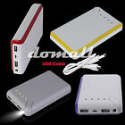20000mAh Power Bank Portable Battery USB Charger For Ipad Iphone Mobile Devices