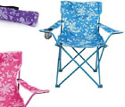 Trail Folding Camping Chair Lounger Floral Festival Seat Garden Travel fold up