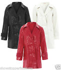 NEW Girls RAINCOAT PVC Trench Coat Ages 7 8 9 10 11 12 13 Years MAC Waterproof