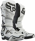 NEW FOX RACING INSTINCT MX DIRTBIKE MOTOCROSS OFFROAD BOOTS WHITE ALL SIZES